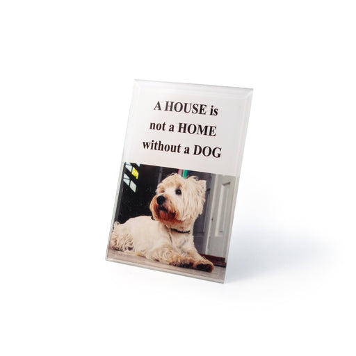 """Dog House"" Inspirational Plaques by Crystal Castle"
