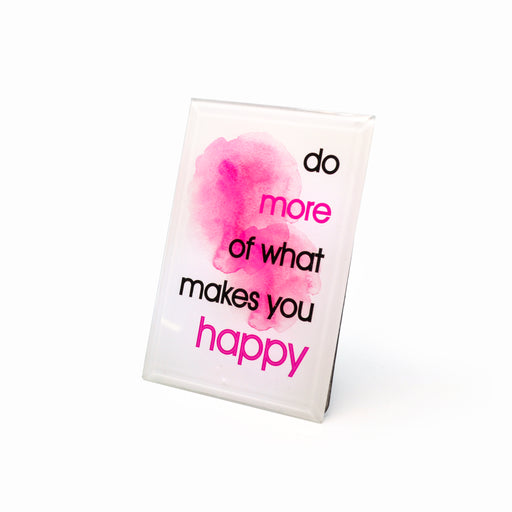 """Do More"" Inspirational Plaques by Crystal Castle"