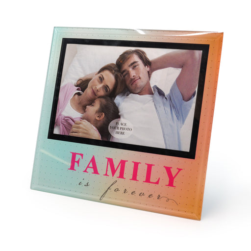 Family is Forever Photo Frame by Crystal Castle