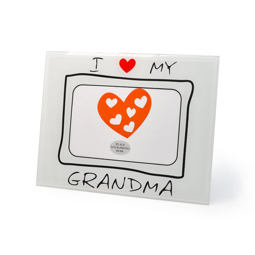 Love Grandma Photo Frame by Crystal Castle
