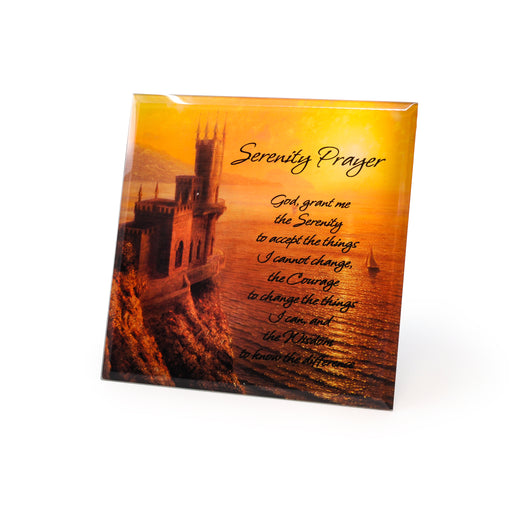 """Serenity"" Inspirational Plaques by Crystal Castle"