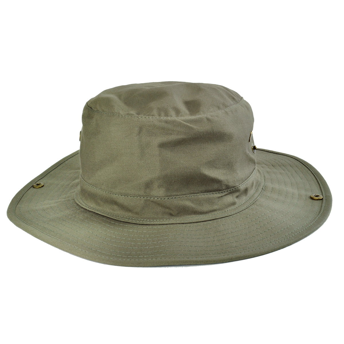 ee5291d0f69 Mens Boonie Bucket Hat Cap 100% Cotton Fishing Military Hunting ...