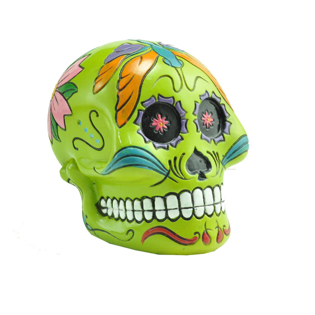 Mexican Day of the Dead Skull Money Bank 1