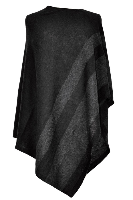 YOUNG USA® - Ladies Poncho, Poly Cashmere
