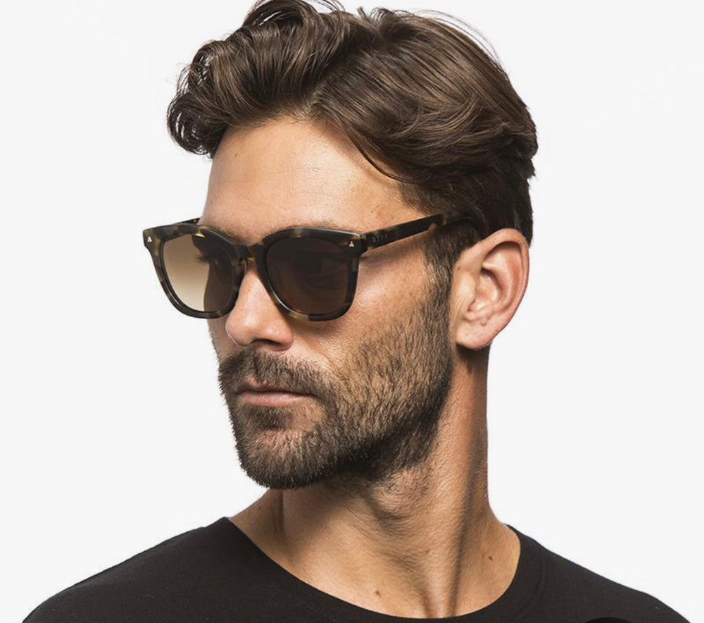 Ryder-matte moss Havana polarized glasses