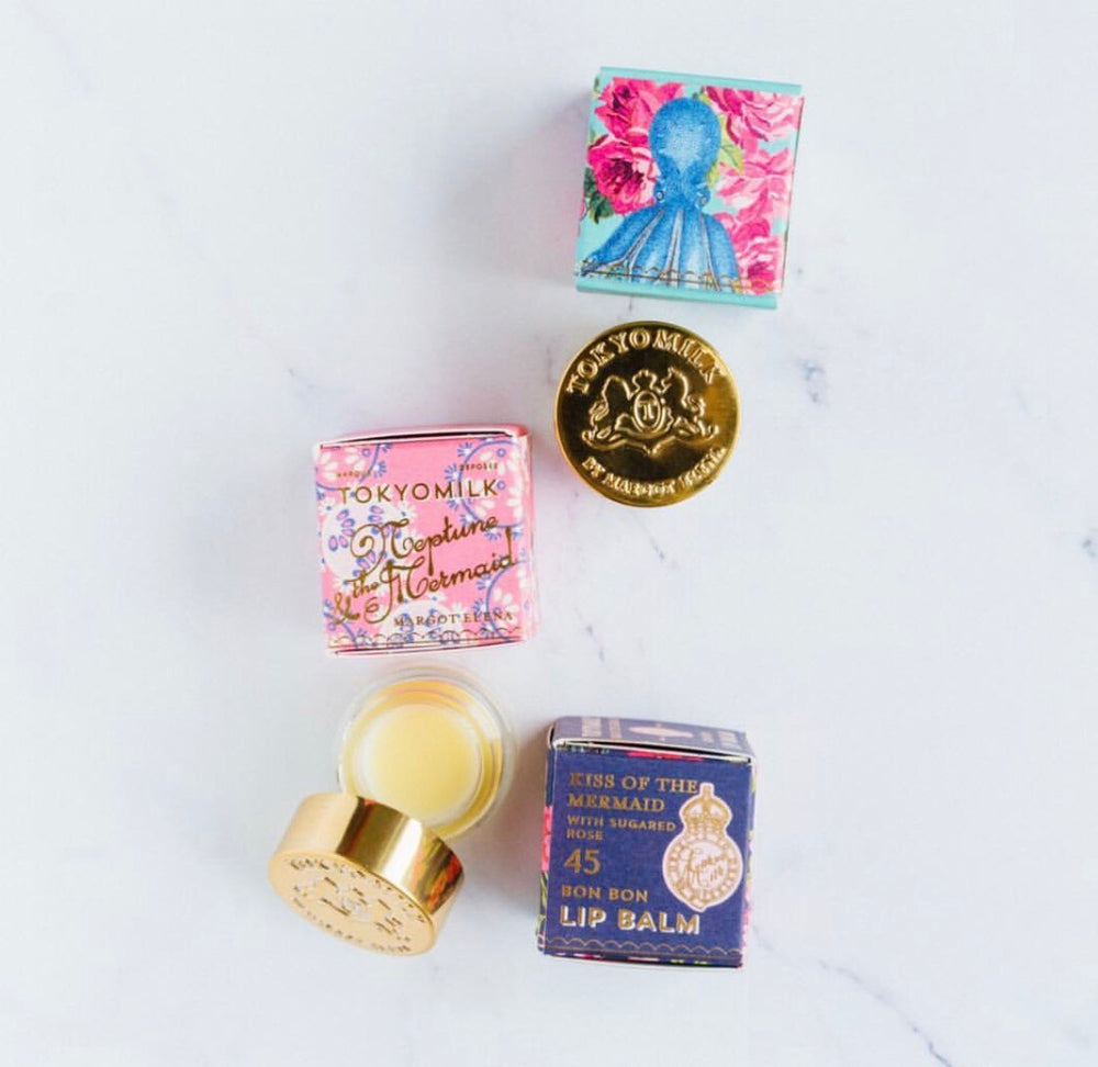 Neptune & The Mermaid Bon Bon Lip Balms