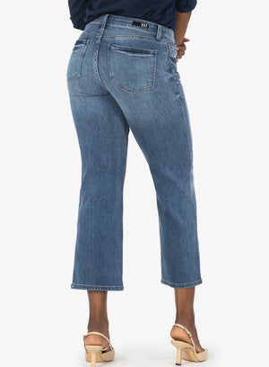 Charlotte High Rise Culotte Jeans by KUT