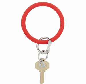 Solid Silicone O-Key Ring