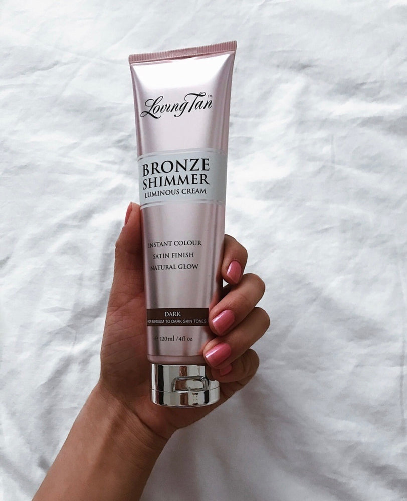 Dark-Loving Tan Bronze Shimmer Lotion