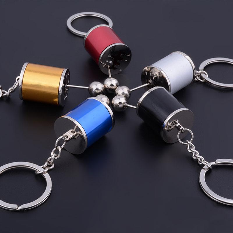 Anti-Stress Gear Shift Keychain