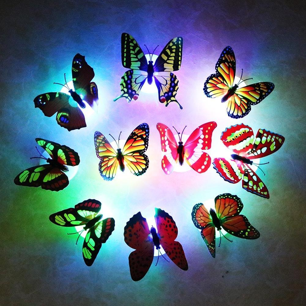 Butterfly LED Night Light X10