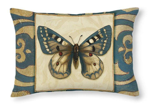 Moroccan Butterfly I Throw Pillow