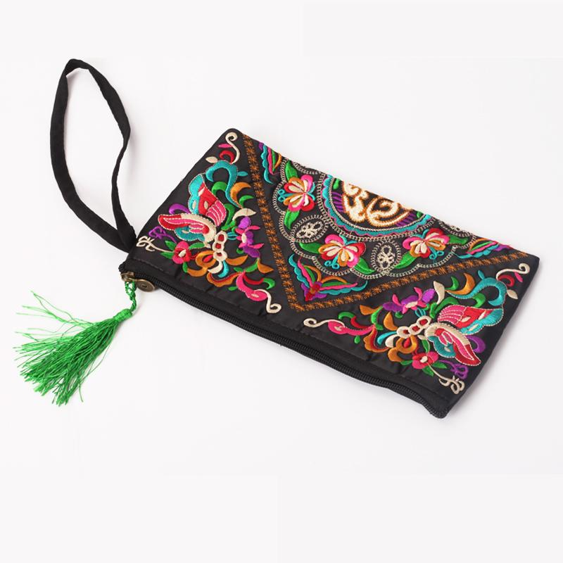 Retro Butterfly Flower Handbag