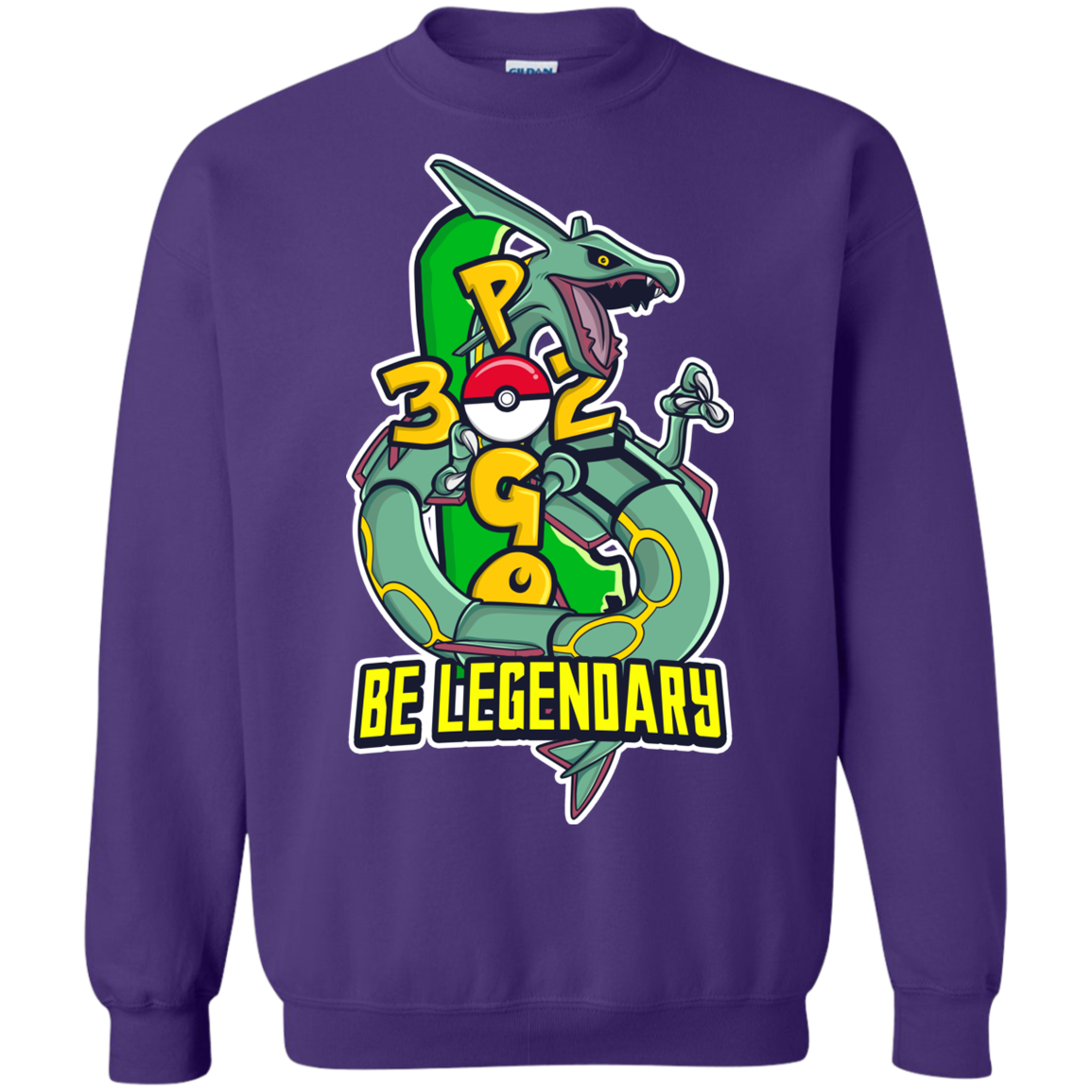 BE LEGENDARY Crewneck Pullover Sweatshirt  8 oz.