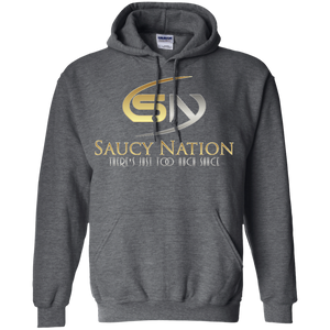 SN Silver & Gold Pullover Hoodie