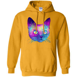 Galaxy Cat Pullover Hoodie