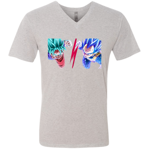 SSGSS Goku and Vegeta Men's V-Neck T-Shirt