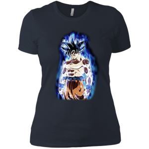 Ultra Instinct Goku Ladies' Boyfriend T-Shirt