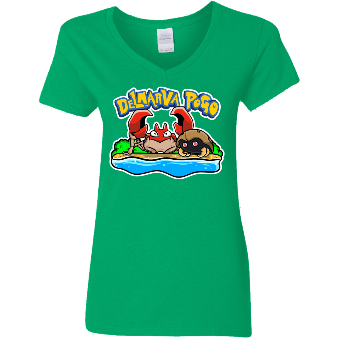 Delmarva POGO Ladies V-Neck T-Shirt