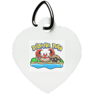 Delmarva Pogo Heart Pet Tag