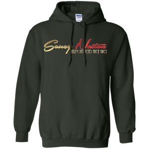 Saucy Nation Pullover Hoodie