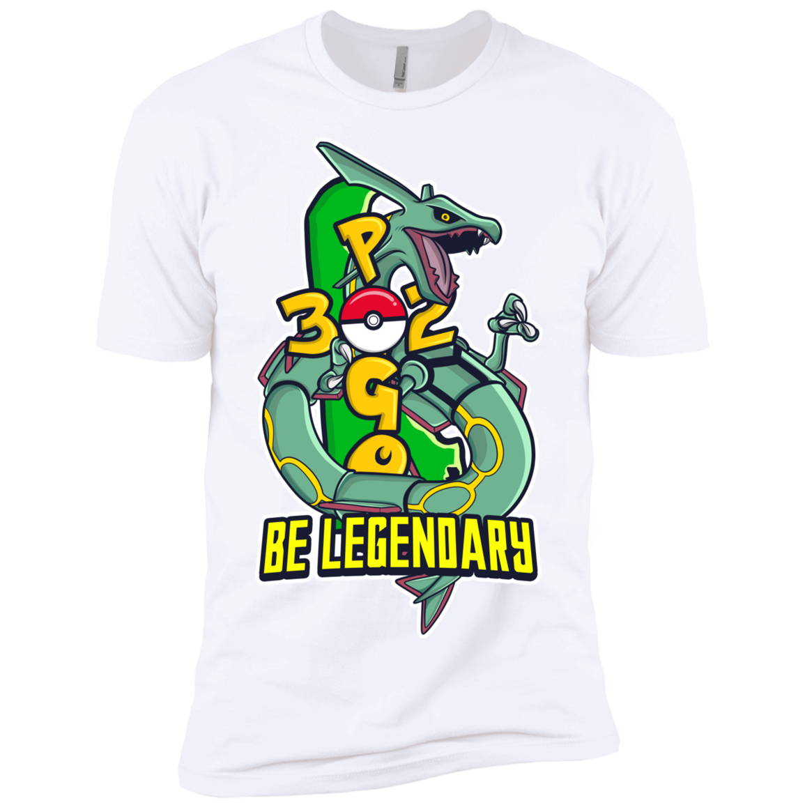 BE LEGENDARY Premium Short Sleeve T-Shirt