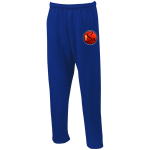 Saucy Nation Open Bottom Sweatpants with Pockets
