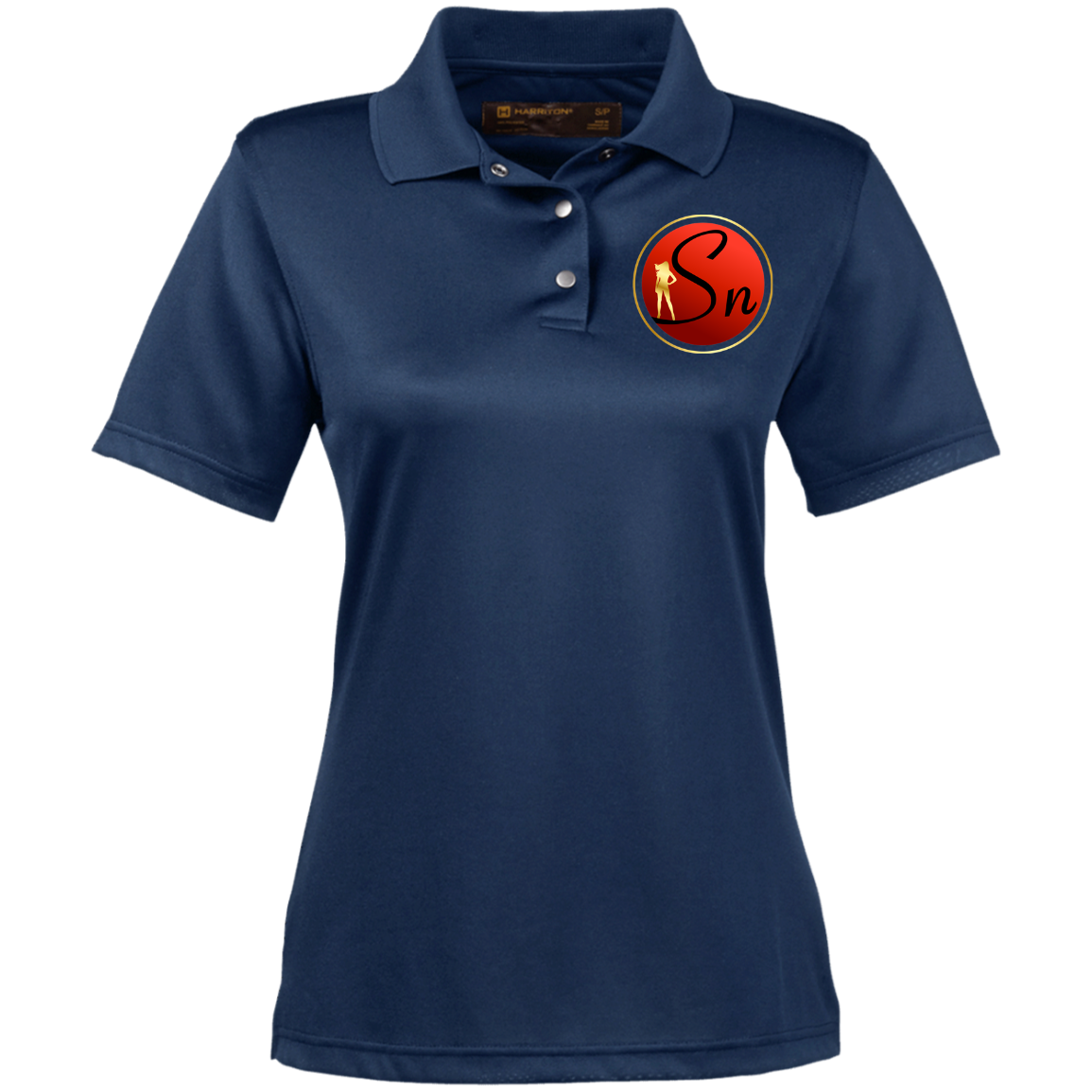 Saucy Nation Ladies' Snap  Performance Polo