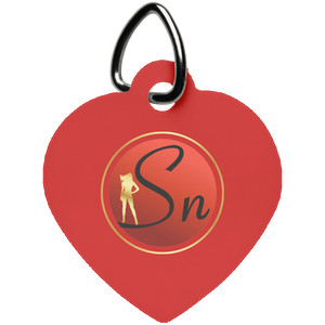 SN Heart Pet Tag