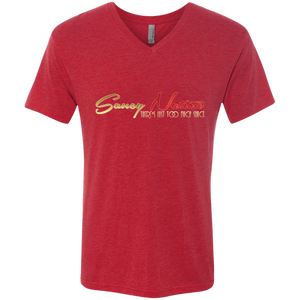 Saucy Nation Men's V-Neck T-Shirt
