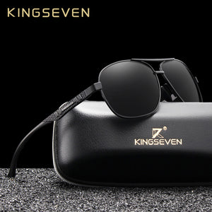 KINGSEVEN 2019 Men's Polarized UV400  Aluminum Sunglasses
