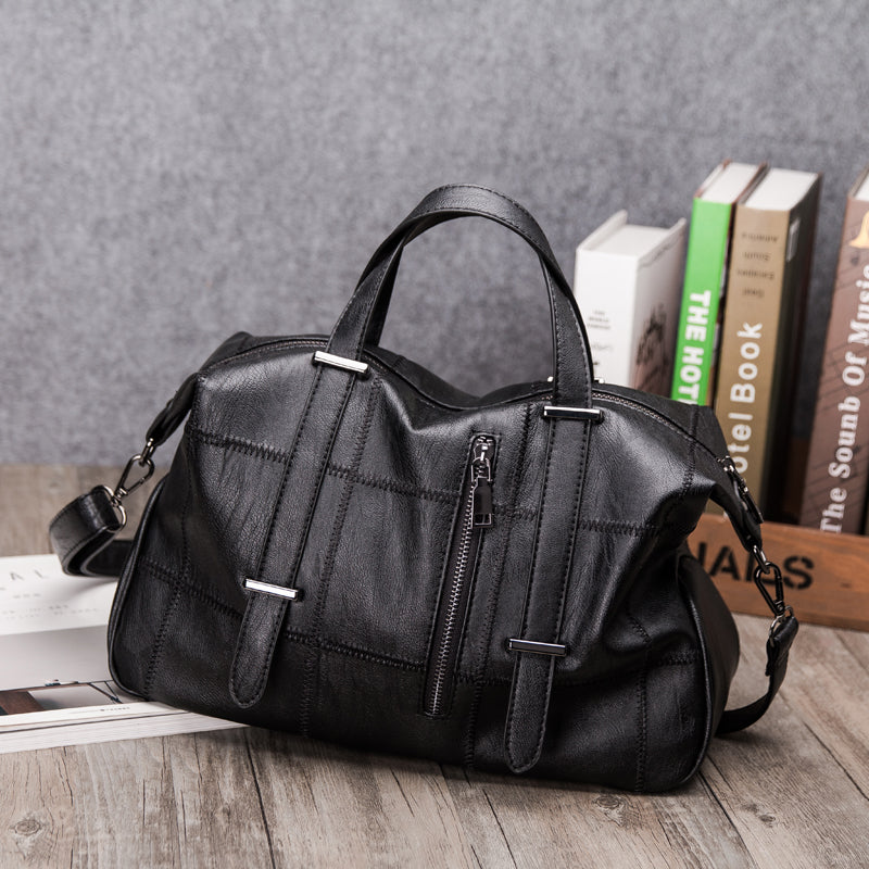886fd3ee5 ... 2018 Large Soft Leather Bag Women Handbags Ladies Crossbody Bags  Messenger Shoulder Bags Female Big Tote ...