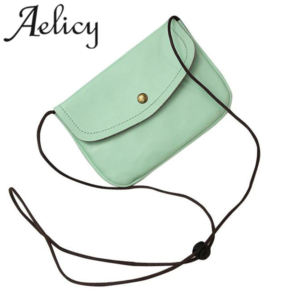 ... Aelicy bags for women 2018 Retro Cover Hasp Crossbody Bag Girls Leather  Messenger Bag Phone Coin ... ddd866d87b4e6