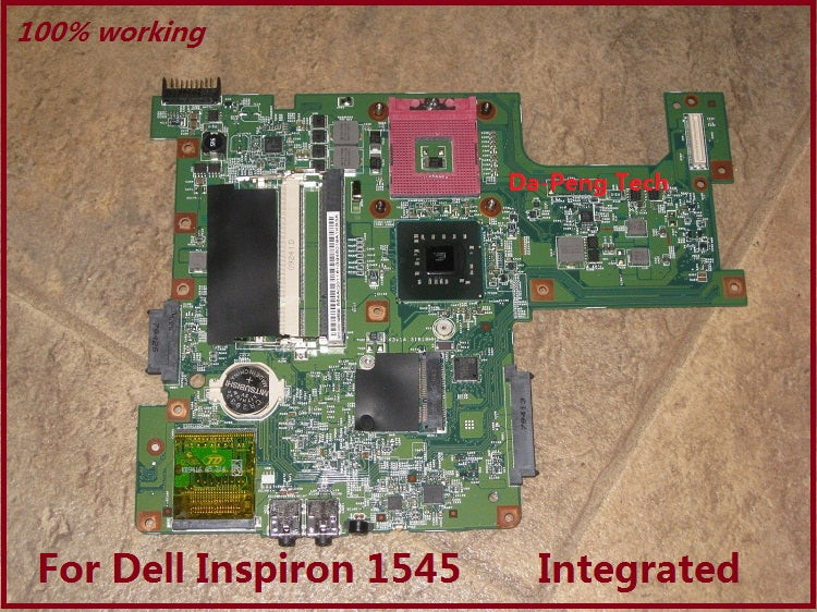 G849F 0G849F CN-0G849F For Dell Inspiron 1545 Motherboard For intel cpu  with Integrated graphics card 100% Working
