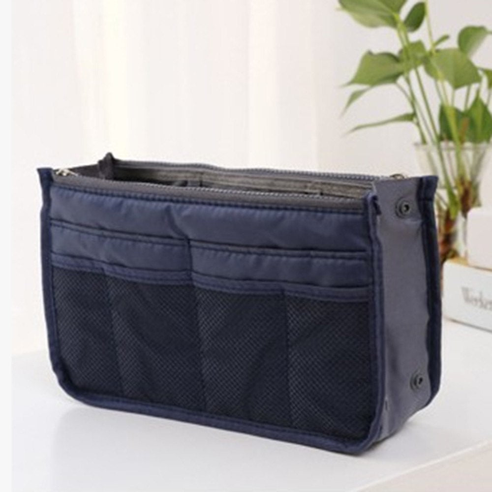 89787f332 ... ISKYBOB Portable New Women s Fashion Bag in Bags Cosmetic Storage  Organizer Makeup Casual Travel Handbag