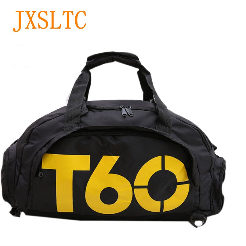 67b88c1c53 ... JXSLTC Brand Men Travel duffle Bag Women Waterproof rucksack Separate  Space For Shoes pouch Voyage sac ...