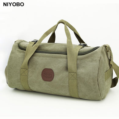 Large Capacity Men Travel Bags Vintage Canvas Women Weekend Traveling Duffle  Tote Crossbody Bags Casual Male ffd2f095e7