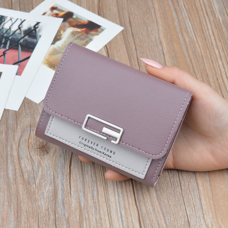 4cef92e8f29 Matte Leather Small Women Wallet Luxury Brand Famous Mini Womens Wallets  And Purses Short Female Coin Purse Credit Card Holder