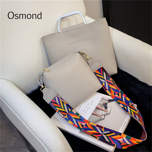 Osmond Luxury Handbag Black Color Strap Shoulder Bag Pink Top-Handle Bags  Leather Solid Tote 0e99cc896faa