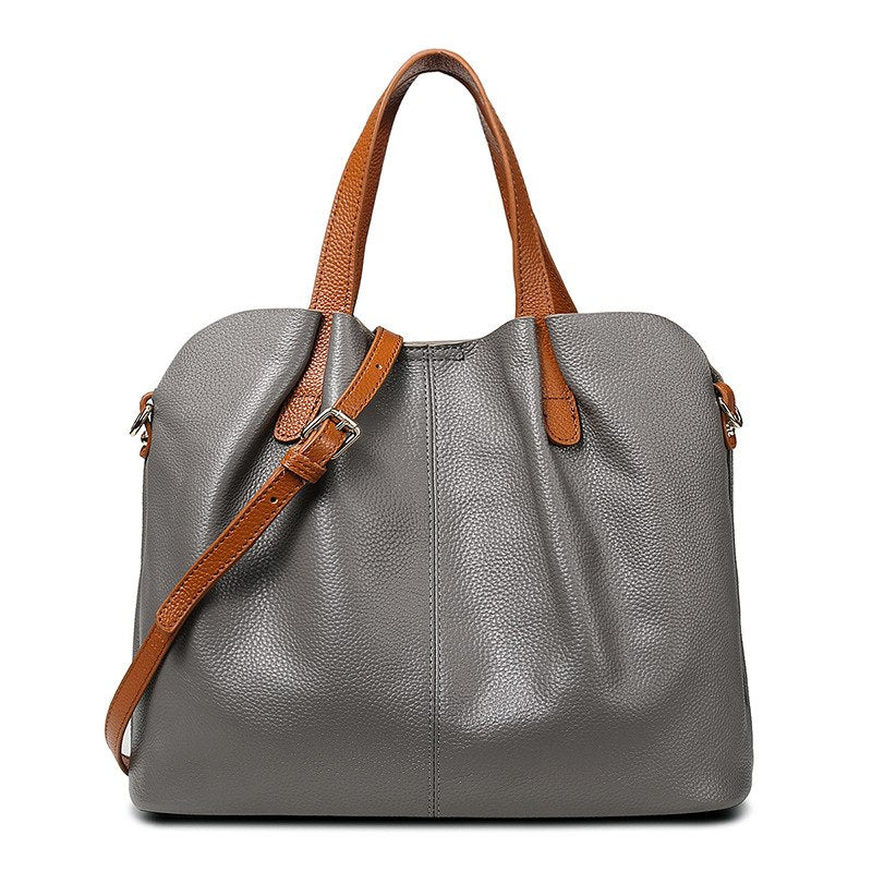 dbea88a9a4 ... SGARR Real Leather Ladies HandBags Women Genuine Leather bags Totes  Messenger Bags Hign Quality Designer Luxury ...