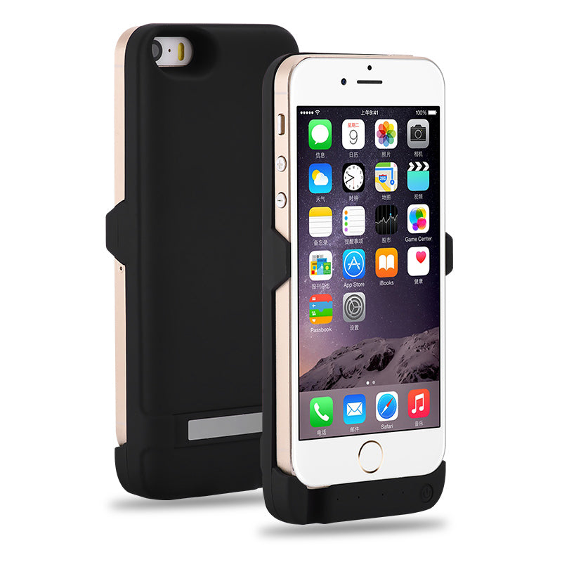 new arrival 4a179 bb594 Top 100% New 4200mAh Battery Charger Case For iPhone 5S SE Power Bank Case  Phone Battery Pack cover For iPhone 5 s Battery Case