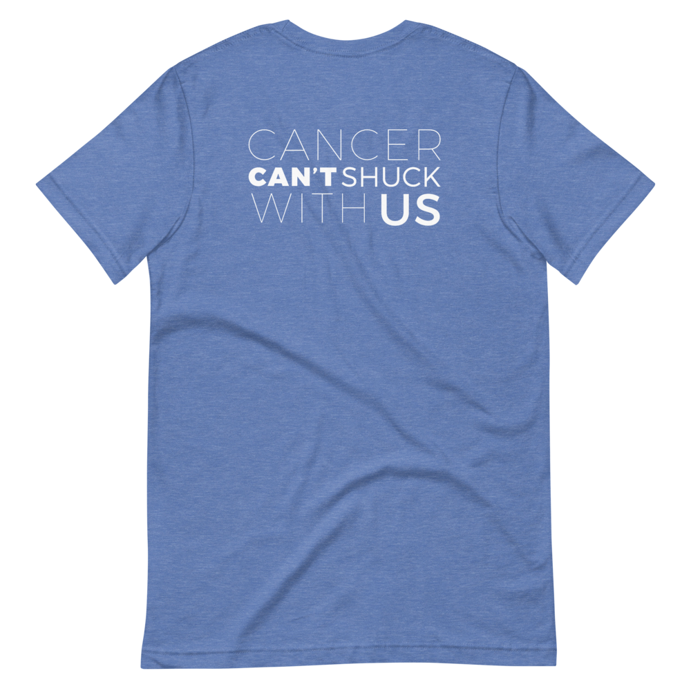 Cancer Can't Shuck With Us American Cancer Society Tee Shirt