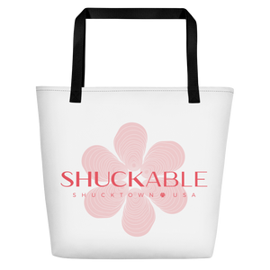 SHUCKABLE FLOWER BEACH BAG