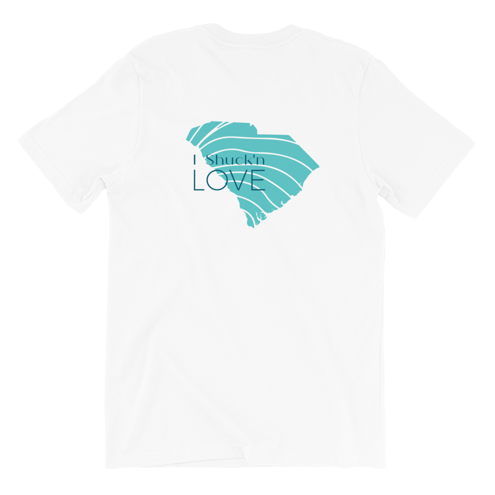 I SHUCK'n LOVE South Carolina Short-Sleeve TEE Shirt