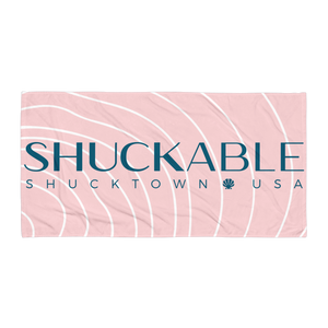 SHUCKABLE Pink Towel