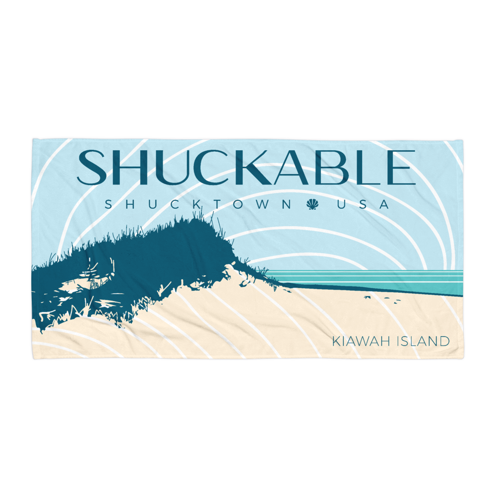 KIAWAH ISLAND Shuckable TOWEL