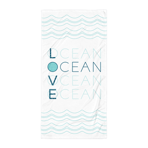 OCEAN LOVE Towel