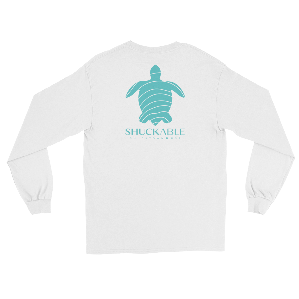 Shuckable Sea Turtle Long Sleeve Tee