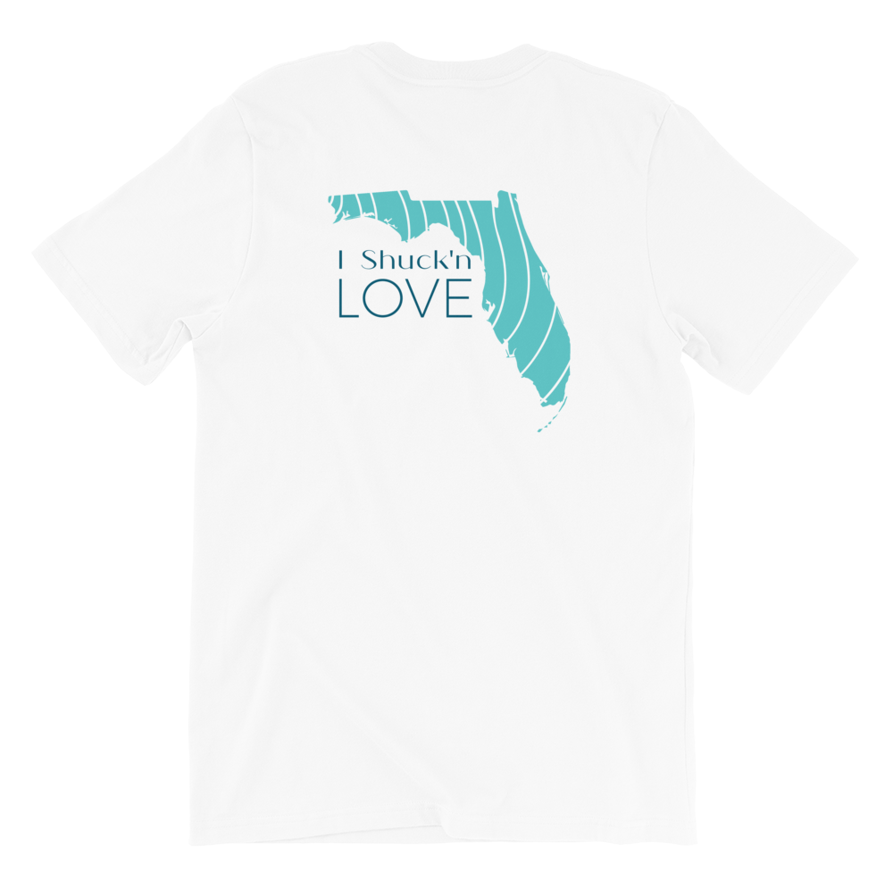 I Shuck'n Love Florida Short-Sleeve Tee Shirt