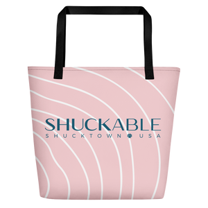 Shuckable Pink Beach Bag